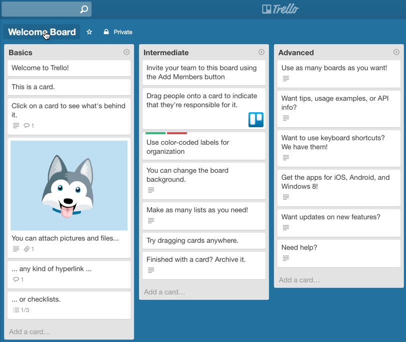 Trello Overview