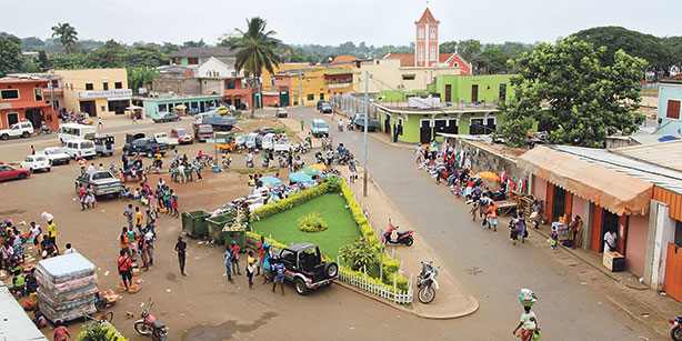 The capitol of São Tomé and Príncipe