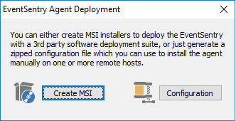 Deploying the EventSentry Agent MSI