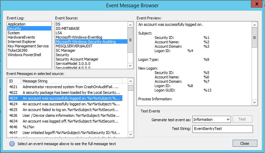 Email notification when user logs on via remote desktop