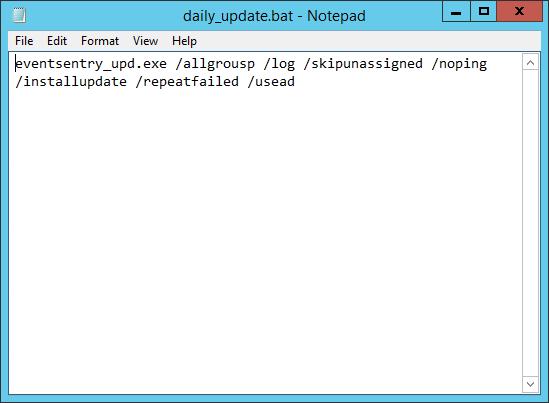how to create a batch script